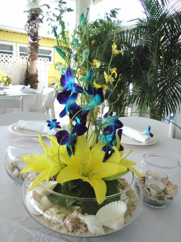 Best images about tropical flower arrangements and