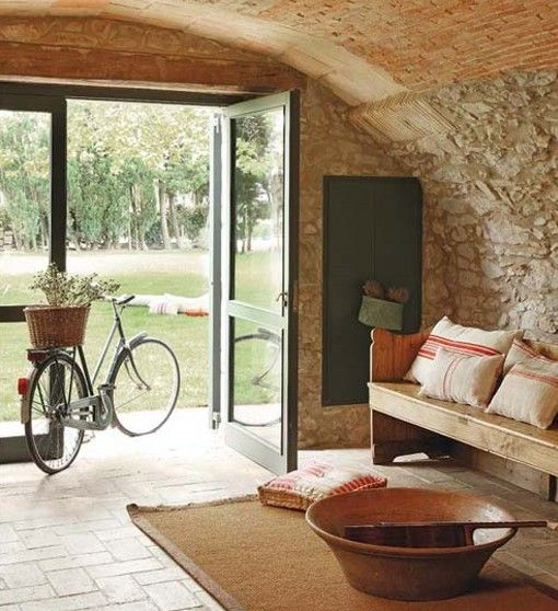 98 best images about masia on pinterest rustic barn - Decoracion casa campo ...