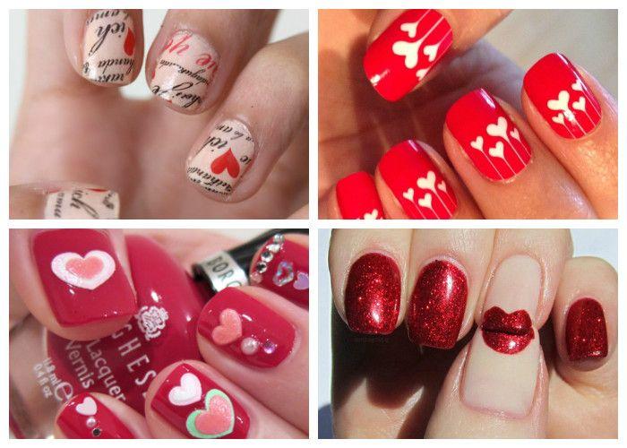 Maniküre für Valentinstag (14. Februar), Foto | Mode