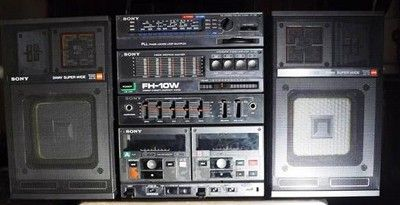Sony FH-10W Combiné Ampli - Tuner - Egaliseur - Double K7 ...