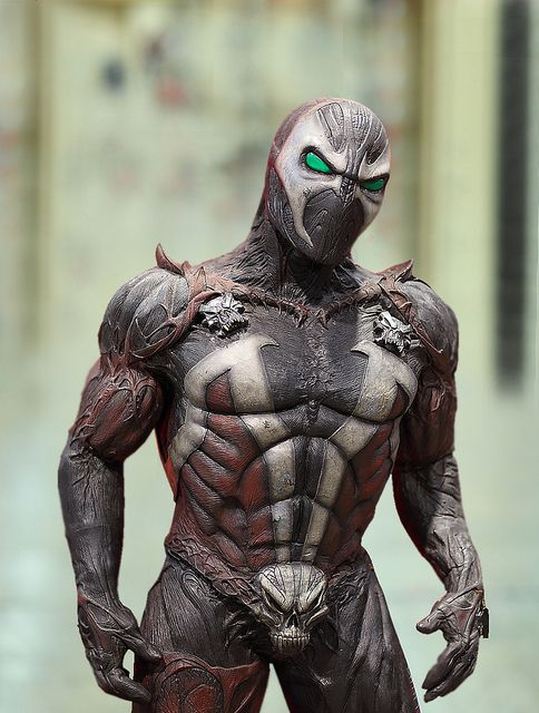 Spawn cosplay costume idea, as this was just a 6 foot tall light weight plastic statue at the 2010 Phoenix Comicon.