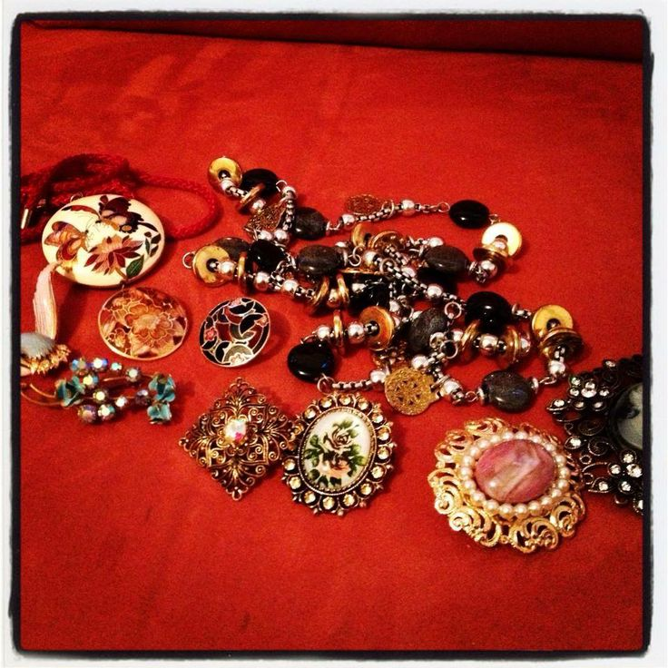 Brooches and pretty little things