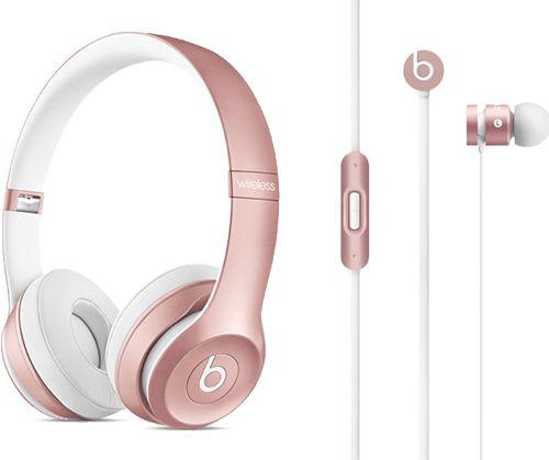 Le Solo2 e le urBeats sono disponibili anche nella versione oro rosa