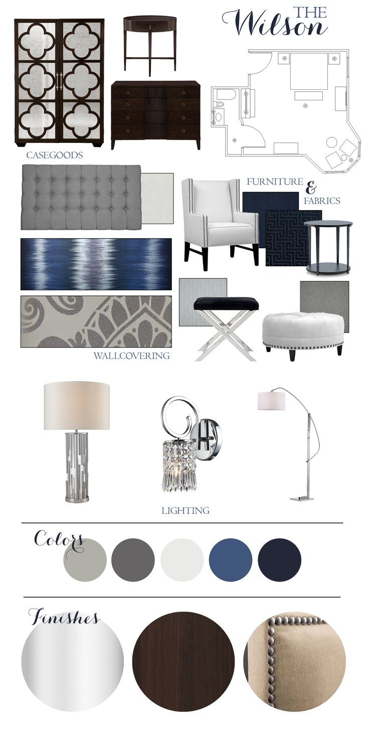 The Wilson Suite \ Design Concept