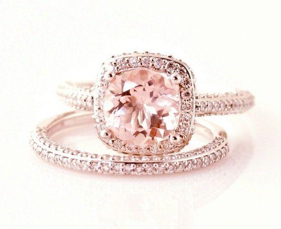 rose gold engagement ring - Wedding Rings Rose Gold