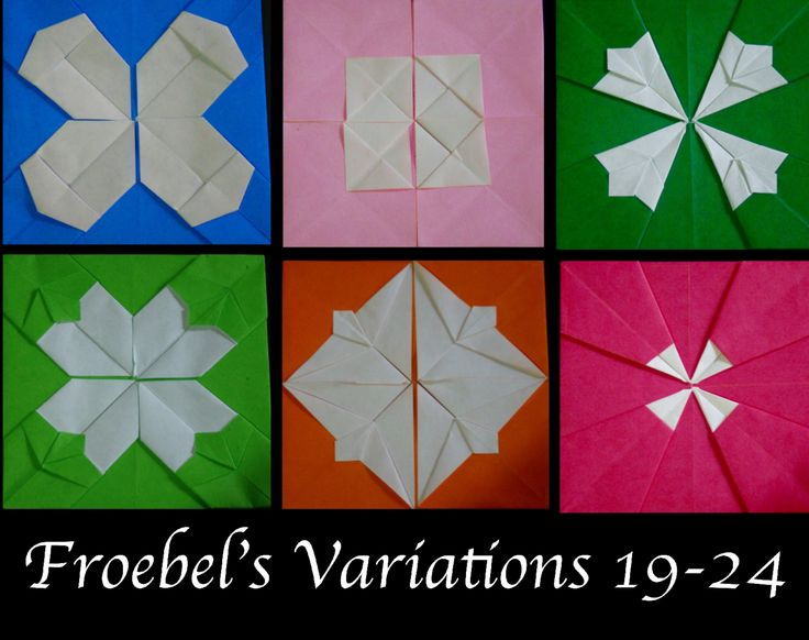 Origami Maniacs 198: Froebel's Variations 19-24