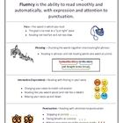 {FREE} Fluency reference sheet for students or parents at MsJordanReads! #edchat #elemchat