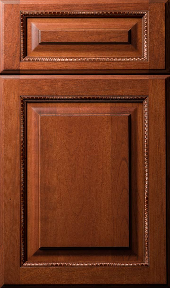 Kitchen cabinet doors tulsa ok - Cotswald Door Done In Cherry Nutmeg With Chocolate Frost Finish