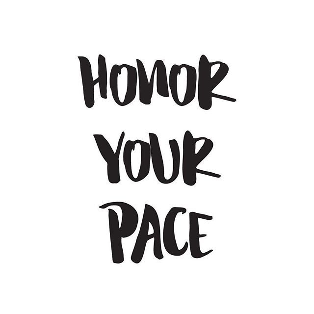 Comparison is the thief of joy. -Theodore Roosevelt. Click through to read about what it means to honor your pace...