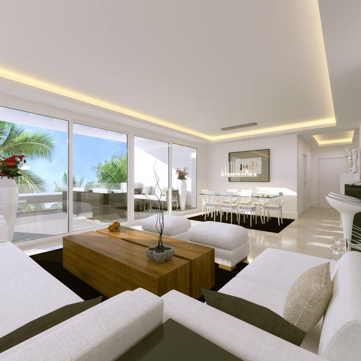 New modern design apartments in Benahavis - Front line golf