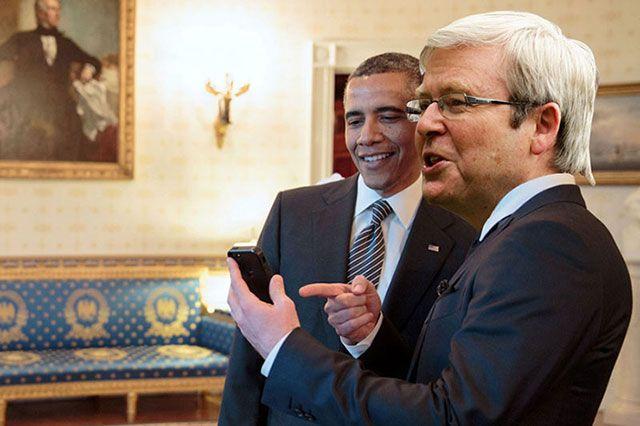 Who Will Win #AusPol? Kevin Rudd vs Tony Abbott on Social Media
