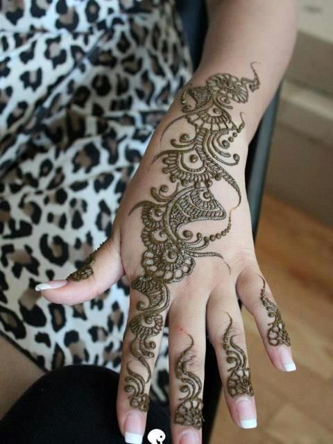 mehandi designs | latest beautiful hand mehndi designs 2013 arabic Simple Arabic Mehndi ...