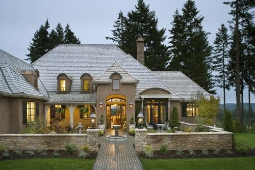French Country Elegance In Portland Beautiful Homes Inside And Out Pinterest Examples The