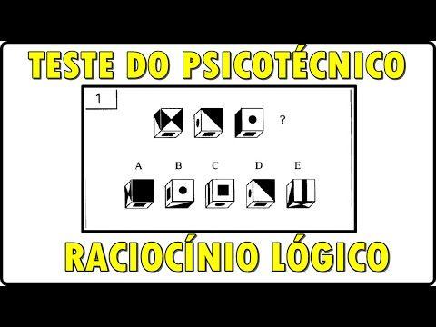 20 Questões do psicotécnico do DETRAN sobre figuras (RACIOCINIO LÓGICO) - YouTube