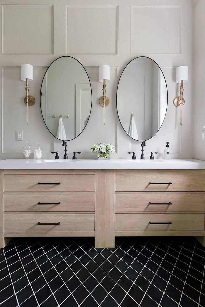 Pin On Bathrooms Wood bath vanity beautiful bathroom