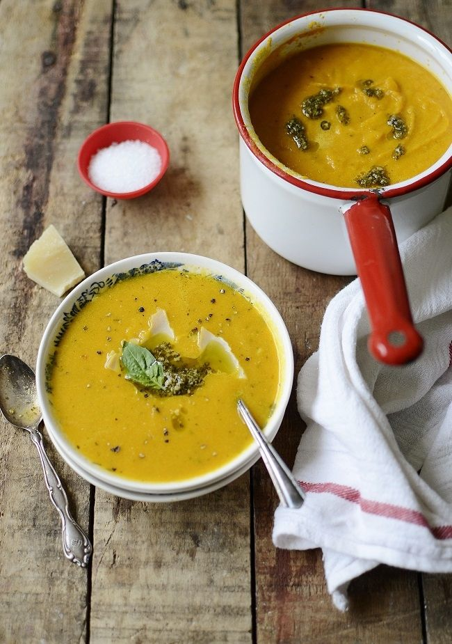 Creamy Carrot and Ginger Soup - Verses from My Kitchen