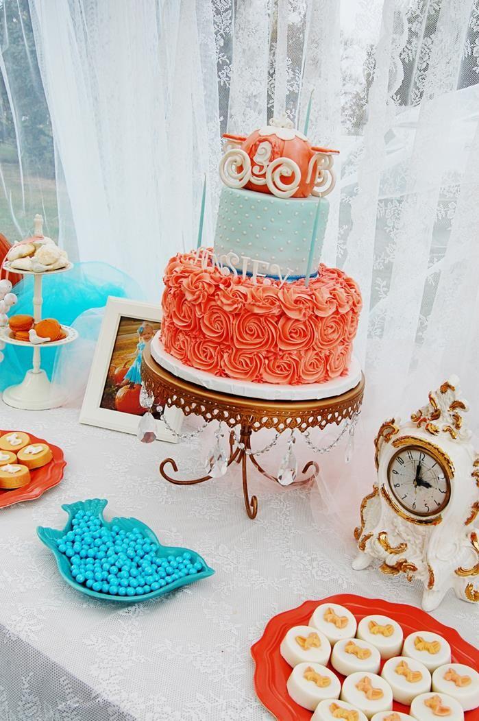 Vintage Cinderella Pumpkin Princess Party -- Perfect for the princess-averse.