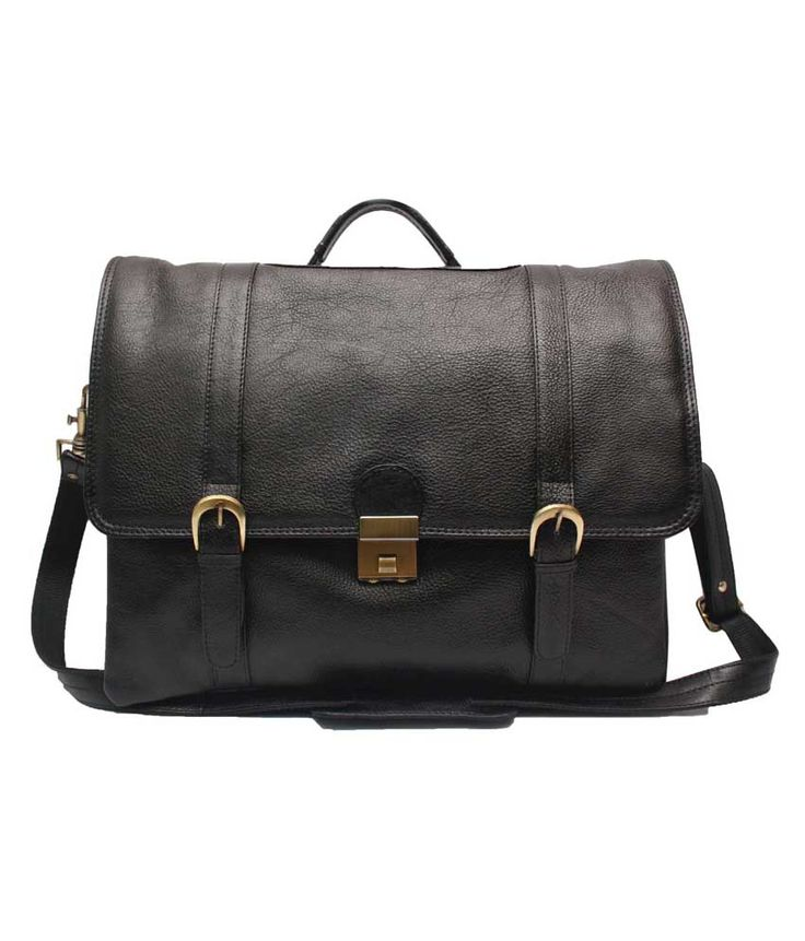 Loved it: Comfort Sleek office Bag Black Leather 15 inch Laptop Messenger Bags, http://www.snapdeal.com/product/comfort-sleek-office-bag-black/9567374