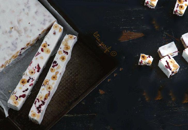 Λευκή σοκολάτα με ξηρούς καρπούς
