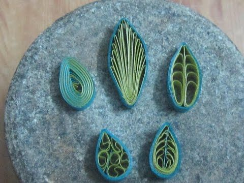 Paper Quilling: Flower - For beginners - DIY Crafts Tutorials - YouTube