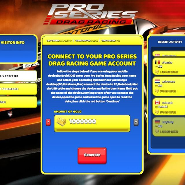 Drag Racing Hack How To Get Free Credits And Rp In Drag Racing