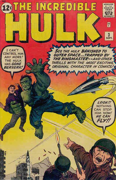 First Ringmaster and the Circus of Crime - Incredible Hulk #3. Hulk gone berserk? Isn't that status quo?