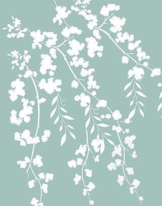 Blossom Stencils Oversize Flower Silhouettes Stencil