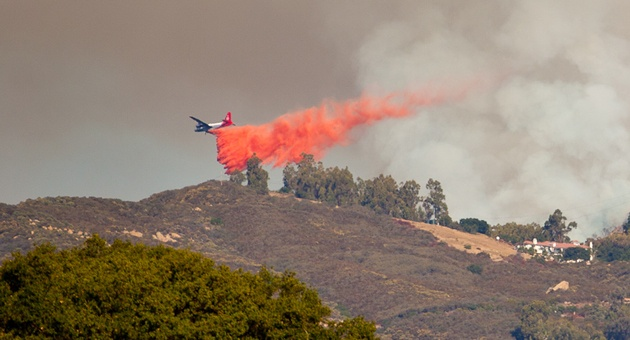 Santa Barbara Lookout Fire.  Did you know that Community Colleges train approximately 80% of all California firefighters?