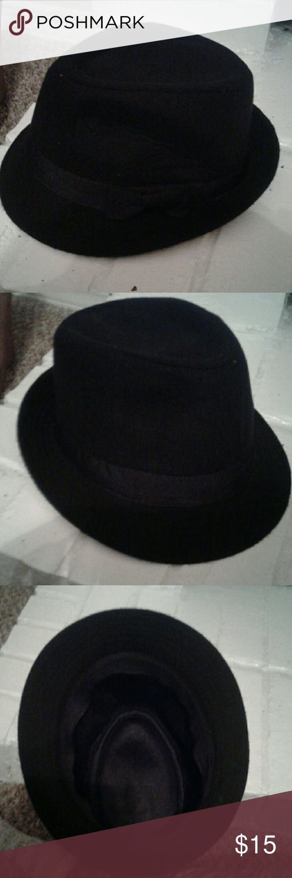 Black Fedora Hat Black Fedora Hat Accessories Hats