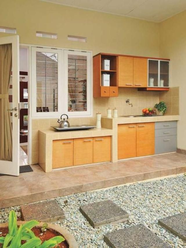 Denah Taman Serunya Dapur Outdoor | Kitchen Di 2019 | Kitchen Design