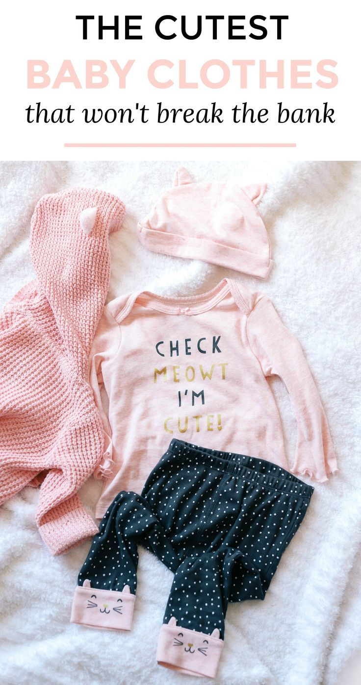 Where to buy the cutest baby outfits for your little one