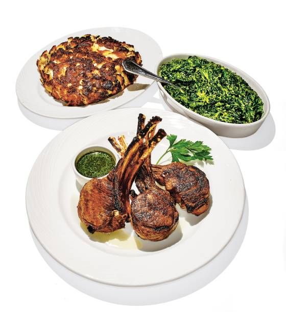 23 best 1000 foods to eat before you die images on pinterest double rib lamb chops at the palm mimi sheratons 10 favorite new york dishes grub street forumfinder Choice Image