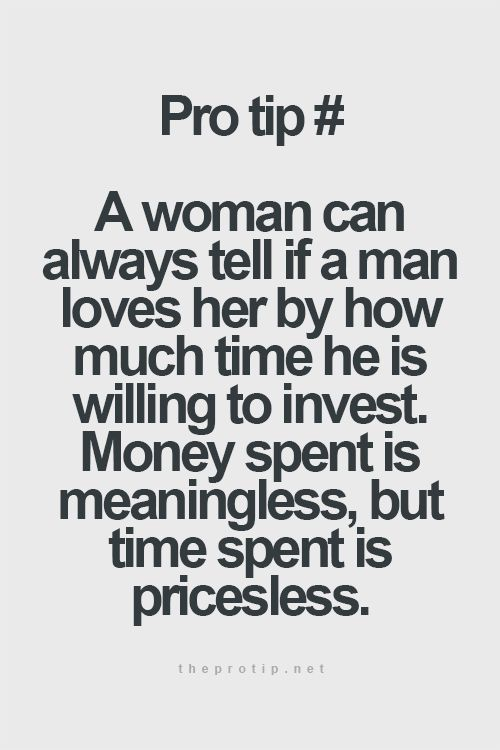 Absolutely! To me money is worthless! I want the time and attention. My husband is amazing at this and what attracted me to him.