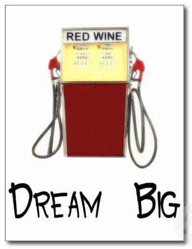 Dream big... YES! Wine dreams! #wine #humor
