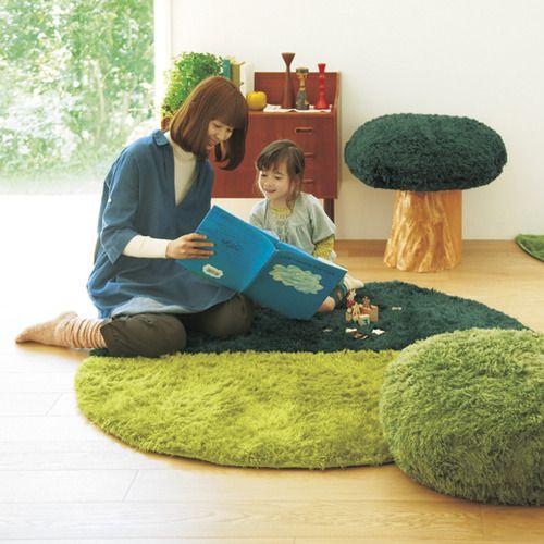 zakka collection [雑貨コレクション] おうちの中に森をつくろう 森のじゅうたん シバーの会 フェリシモ