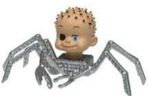 Toy Story Baby Head Spider Art Miley Cyrus Spider Toy Story