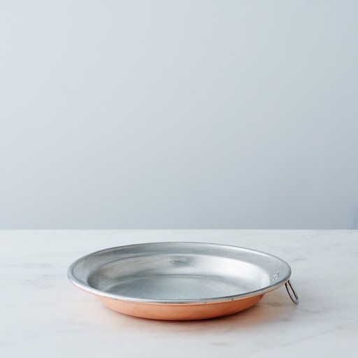 Vintage Copper Round Pie Plate, Late 19th Century on Provisions by Food52