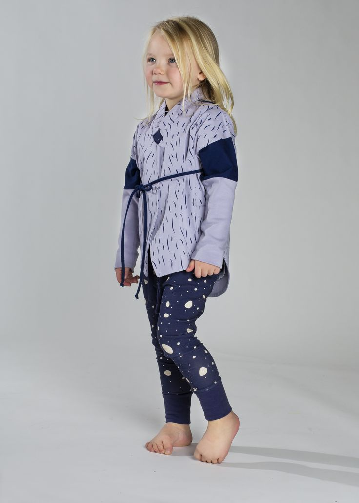Hairy Jacket, Snowflake Legging www.koolabah.com