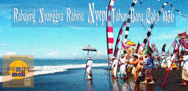 Rahajeng Nyanggra Rahina Nyepi Tahun Baru Caka 1936