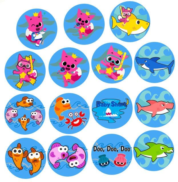 EASTER 30 Edible Cupcake Toppers Wafer Paper Party Cake Decoration #2