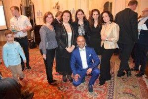 Υποδοχή της ελληνικής συμμετοχής στη Eurovision στο πλαίσιο εκδήλωσης του Γραφείου ΕΟΤ Αυστρίας και του Γραφείου Τύπου στην ελληνική Πρεσβεία στη Βιέννη
