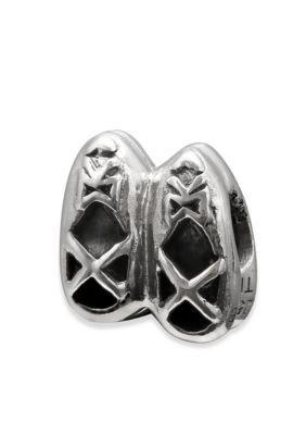Belk Silverworks  Sterling Silver Ballet Shoes Originality Bead - Gray - One Size