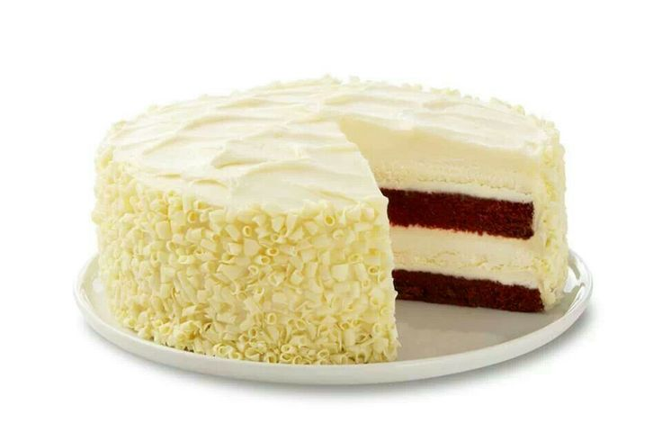 Cheesecake Factory red velvet cheesecake. You can order online now from them and have desserts shipped to your house!