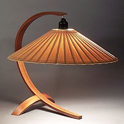 Wood Lamps - Arched Table Lamp