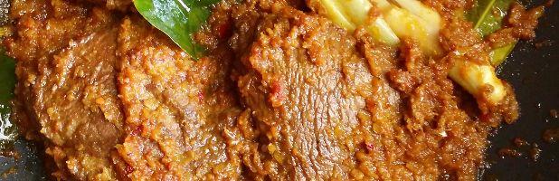 Daging sapi roedjak - Kokkie Slomo - Indische recepten
