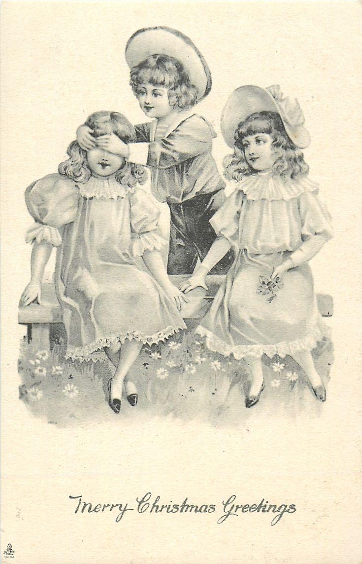 Картинки, картинки декупаж дети монохром