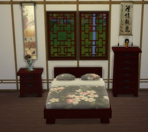 Asian Mattress at Lexicon Luthor via Sims 4 Updates