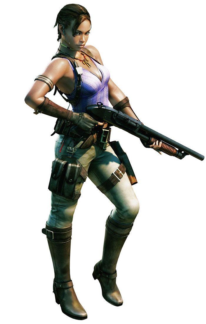 Sheva Alomar from Resident Evil 5