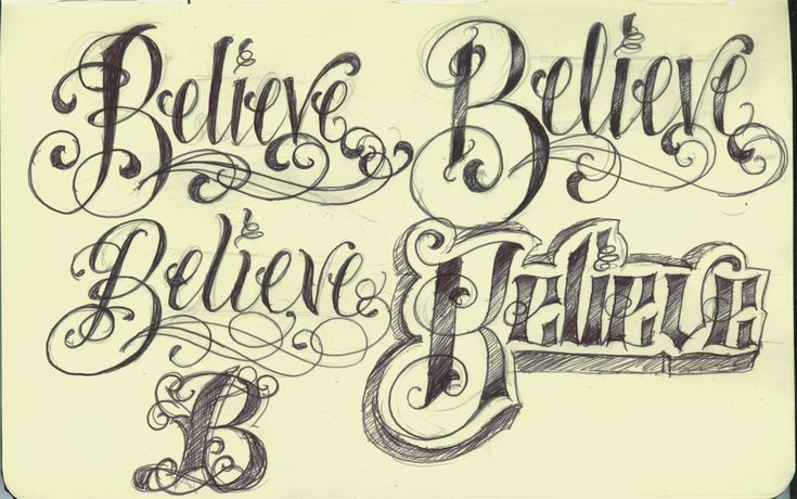 Girly Alphabet Fonts | Thus side tattoo ideas and rib