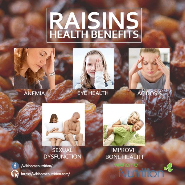 Raisins Health Benefits